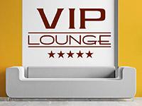 Wandtattoo 5-Sterne VIP Lounge im Wohnzimmer