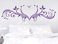 Wandtattoo Herz Ornament | Bild 3