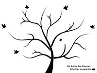 Wandtattoo Lebensbaum Motivansicht