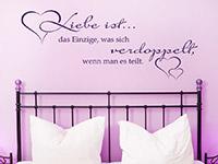 Wandtattoo Liebe ist das Einzige... | Bild 4