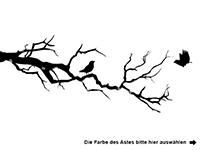 Wandtattoo Kirschblütenzweig Motivansicht