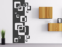 Wandbanner Retro Cubes | Bild 3