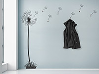 Wandtattoo Garderobe Pusteblume | Bild 3