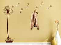 Wandtattoo Garderobe Pusteblume | Bild 4