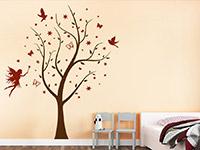 Wandtattoo Traumhafter Baum im Kinderzimmer