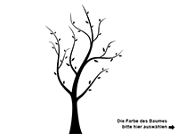 Wandtattoo Traumhafter Baum Motivansicht