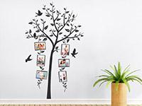 Wandtattoo Dekorativer Fotorahmen Baum