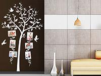 Wandtattoo Baum mit verspielten Fotorahmen | Bild 4