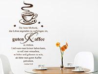 Wandtattoo Guten Kaffee