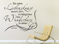 Wandtattoo Lebenskunst | Bild 2