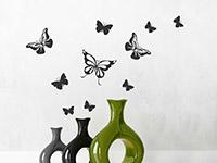 Wandtattoo Schmetterlingsflug | Bild 3