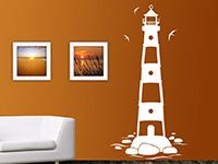 Wandtattoo Nordsee Leuchtturm
