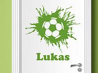Wandtattoo Fußball Held | Bild 2