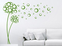 Wandtattoo Seifenblasen Blüten | Bild 2