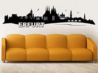 Wandtattoo Erfurt