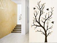 Wandtattoo Baum mit Vögeln | Bild 2