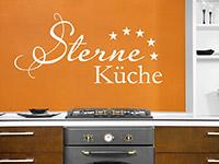 Wandtattoo Fünf Sterne Küche | Bild 3