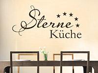 Wandtattoo Fünf Sterne Küche | Bild 4