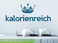 Wandtattoo Kalorienreich in der Küche