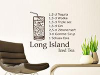 Long Island Ices Tea im Wohnzimmer