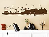Wandtattoo Mallorca