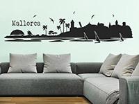 Wandtattoo Mallorca im Wohnzimmer