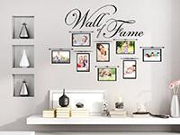 Wandtattoo Fotorahmen Wall of Fame | Bild 2