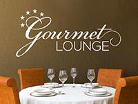 Wandtattoo Gourmet Lounge mit Sternen | Bild 2