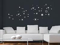 Wandtattoo Weihnachtlicher Sternenhimmel | Bild 2