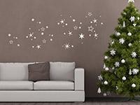 Wandtattoo Weihnachtlicher Sternenhimmel | Bild 4