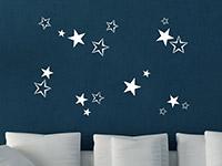 Wandtattoo Sterne-Set | Bild 2