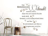 Wandtattoo Geheimnis der Weihnacht | Bild 2