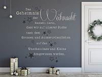 Wandtattoo Geheimnis der Weihnacht | Bild 4
