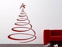 Wandtattoo Weihnachtsbaum | Bild 2