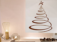 Wandtattoo Weihnachtsbaum | Bild 3