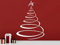 Wandtattoo Weihnachtsbaum | Bild 4
