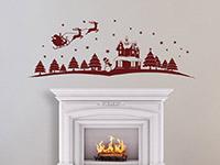 Wandtattoo Weihnachtliche Landschaft | Bild 2