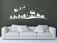 Wandtattoo Weihnachtliche Landschaft | Bild 4