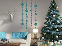 Wandtattoo Weihnachtliche Dekobänder | Bild 3