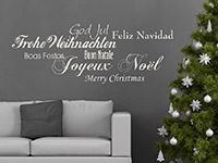 Wandtattoo Fröhliche Weihnachten... | Bild 2