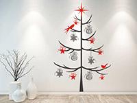 Wandtattoo Zweifarbiger Weihnachtsbaum | Bild 2