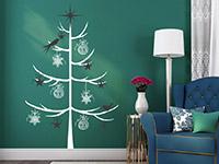 Wandtattoo Zweifarbiger Weihnachtsbaum | Bild 4