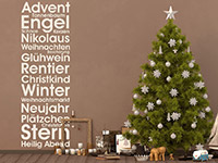 Wandtattoo Weihnachtliche Stimmung | Bild 2
