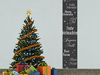 Wandbanner Fröhliche Weihnachten | Bild 3