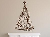 Wandtattoo Festlicher Weihnachtsbaum | Bild 4
