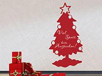 Wandtattoo Tafelfolie Weihnachtsbaum | Bild 2