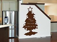 Wandtattoo Tafelfolie Weihnachtsbaum | Bild 3