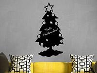 Wandtattoo Tafelfolie Weihnachtsbaum | Bild 4