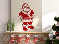 Wandtattoo Weihnachtsmann | Bild 2