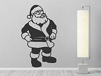 Wandtattoo Weihnachtsmann | Bild 3